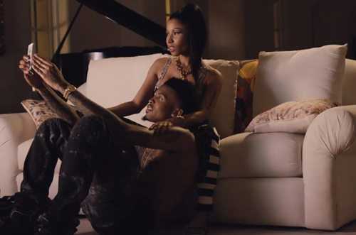 August Alsina Kissing Nicki Minaj