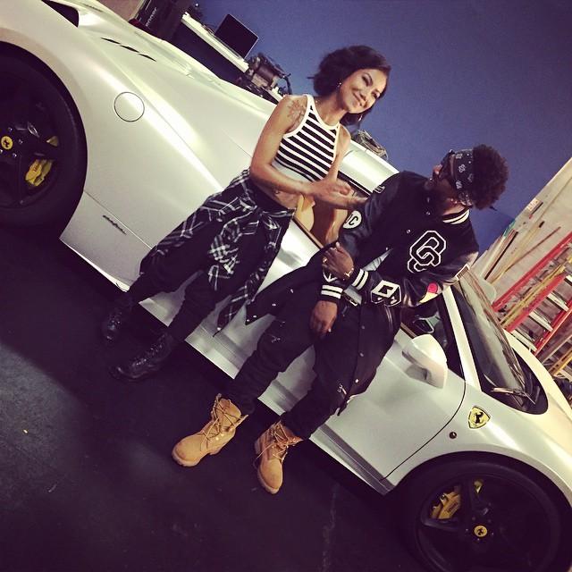 Omarion jhen aiko chris brown shoot post to be music - Jhene aiko living room flow lyrics ...