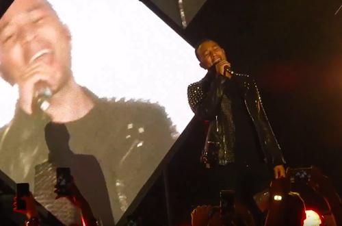 Watch: John Legend Surprises with
