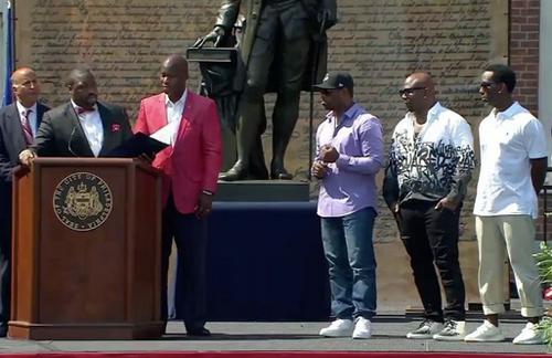 Boyz II Men Philly Citation