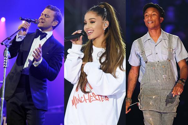 Justin-Ariana-Pharrell