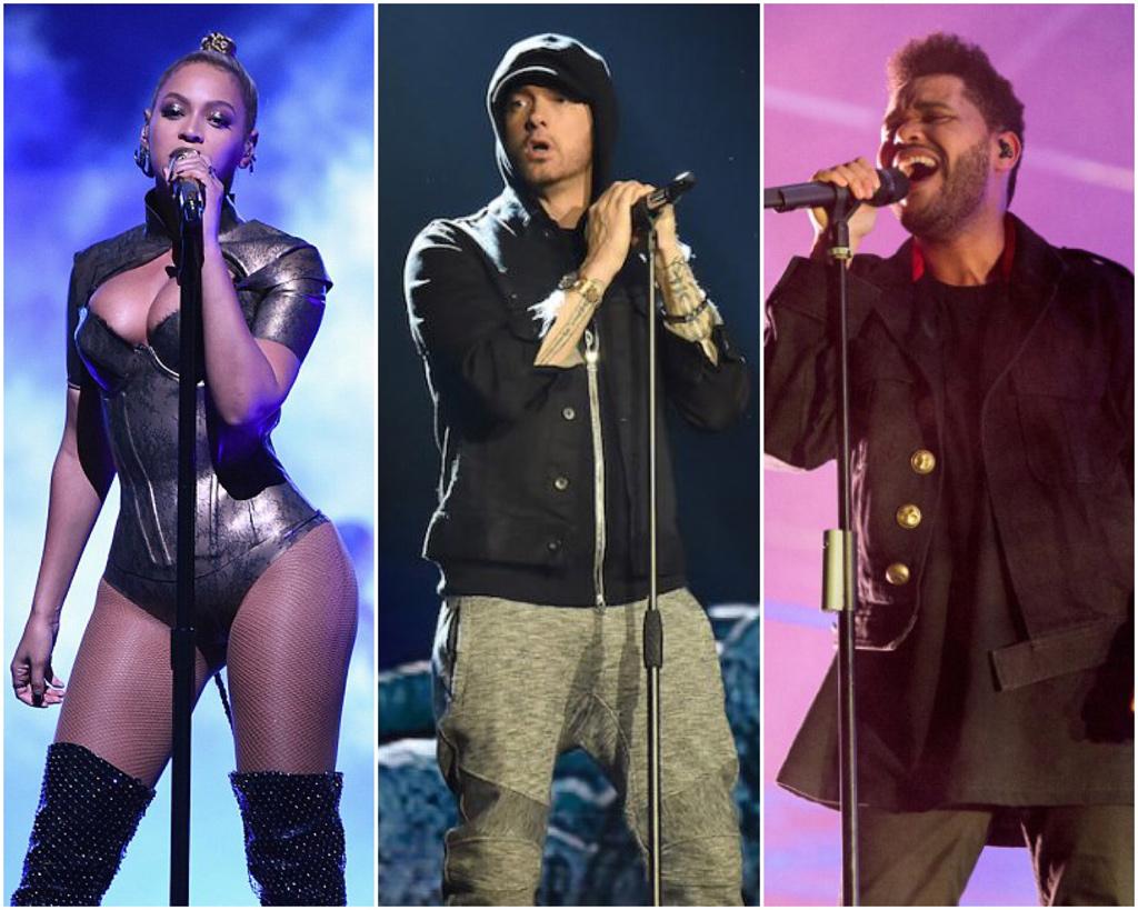 Beyonce-Eminem-Weeknd