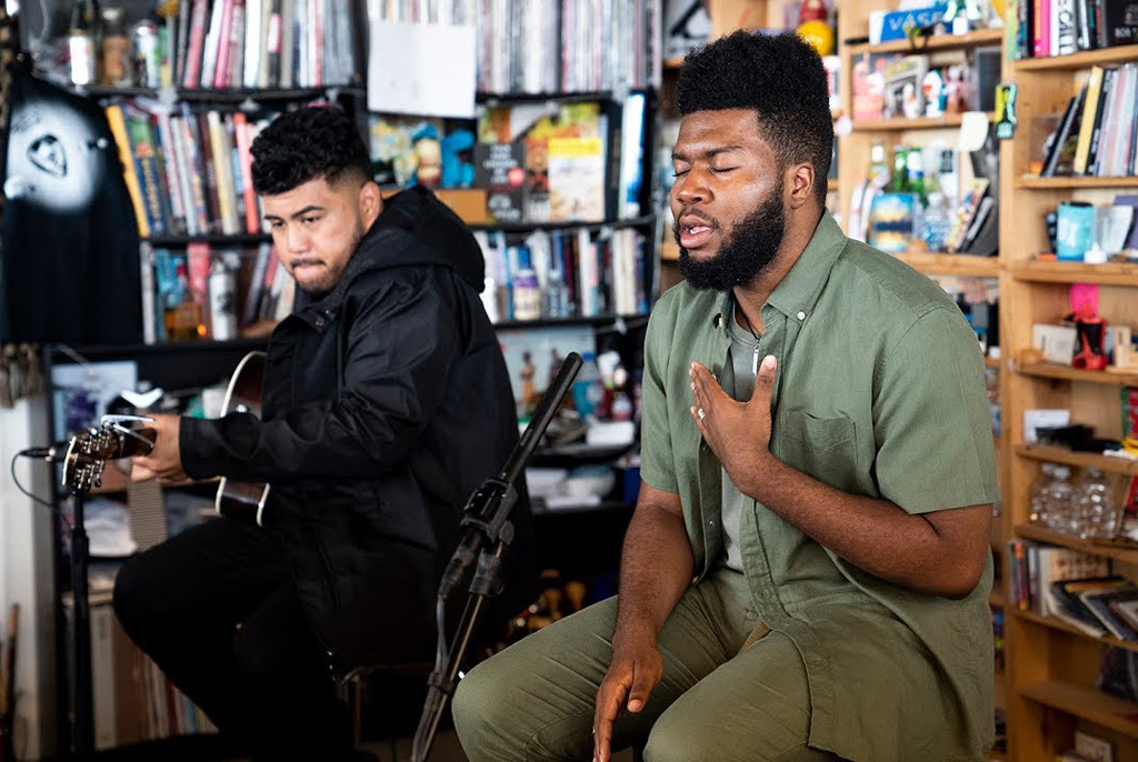Khalid NPR Tiny Desk