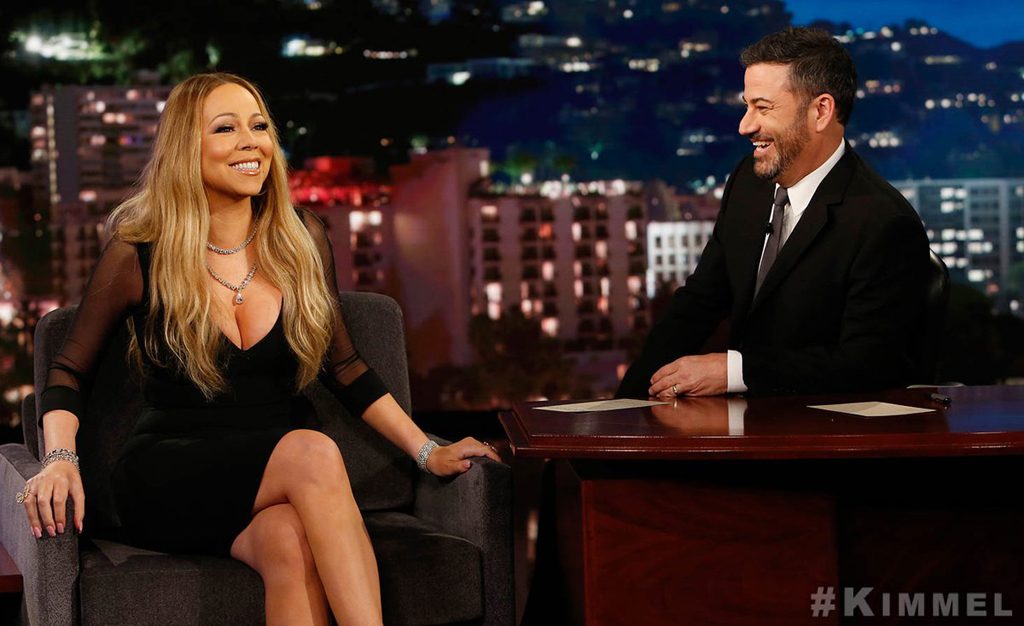 Mariah Carey Jimmy Kimmel