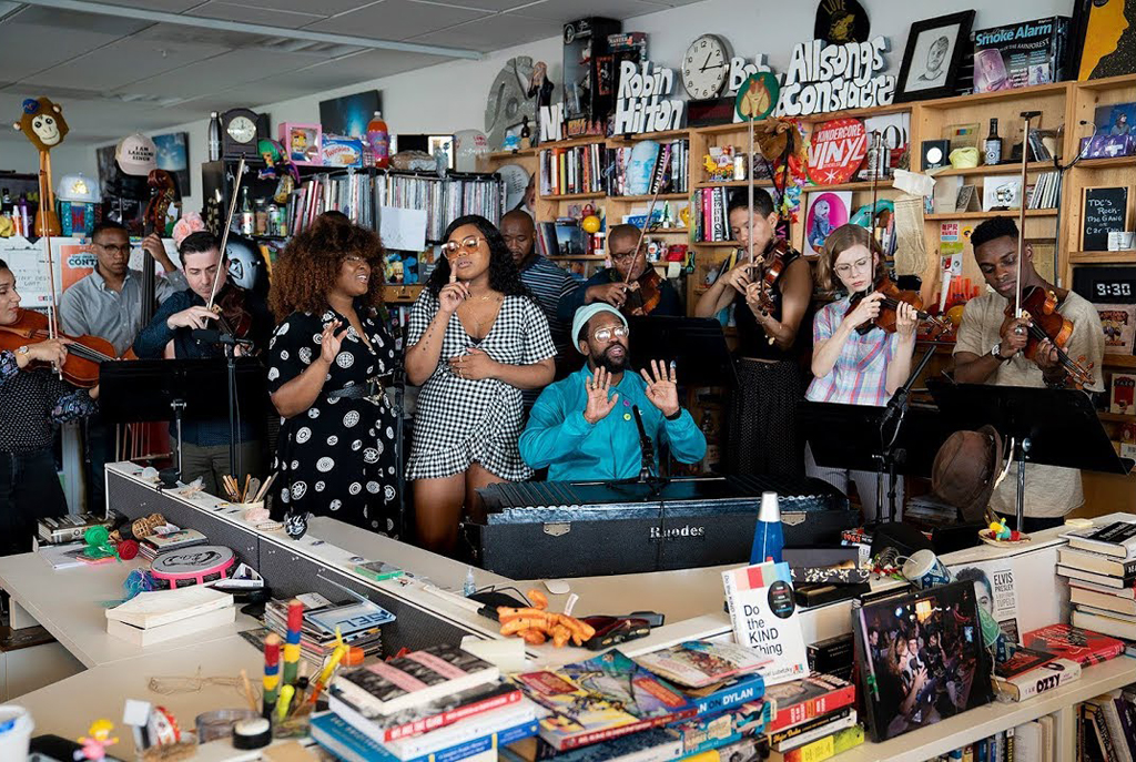 PJ Morton NPR Tiny Desk