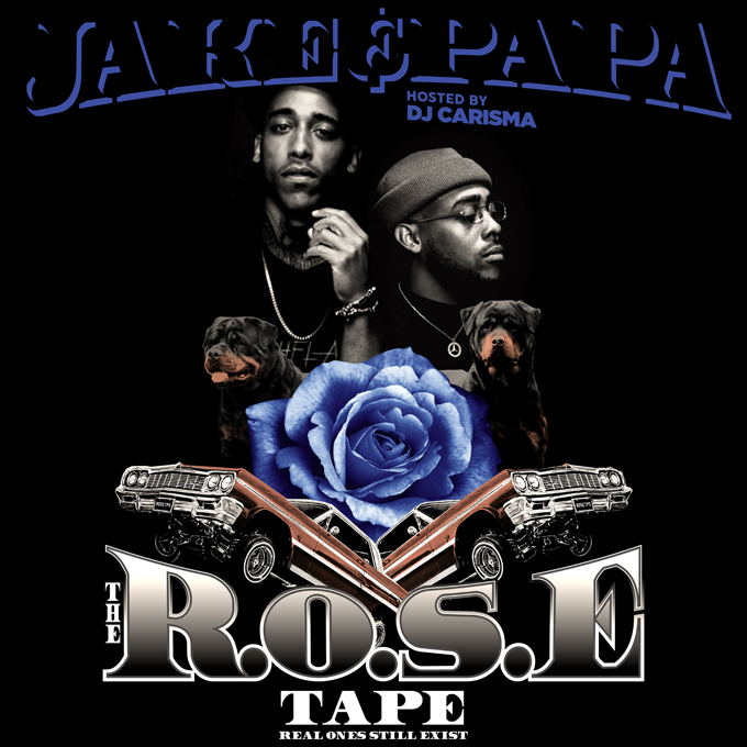 JakeandPapa Rose Tape