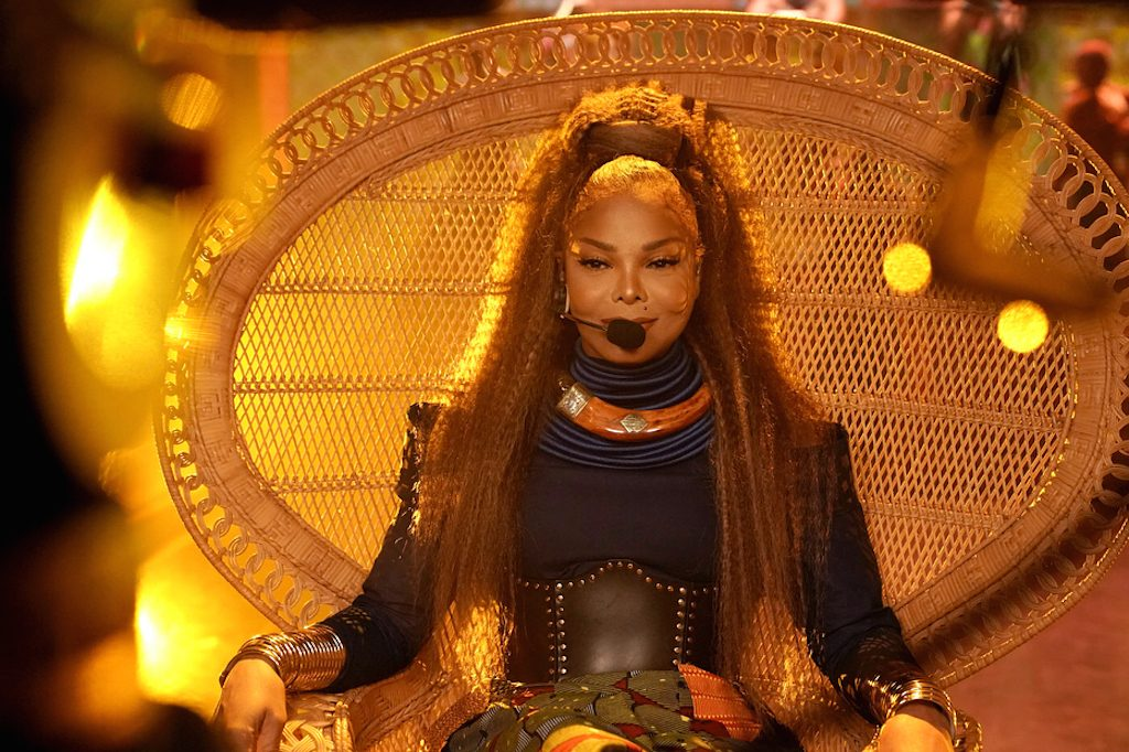 Janet Jackson Made For Now Performance