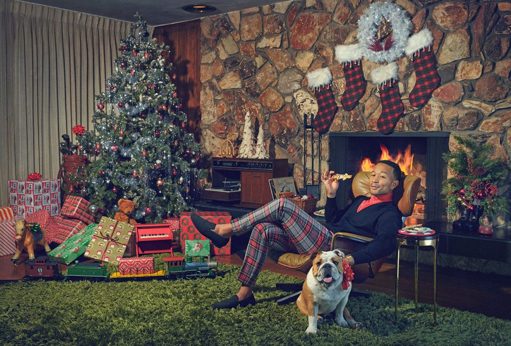 John Legend Christmas promo