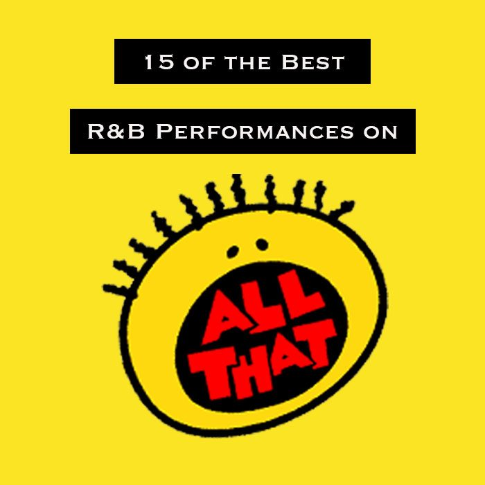 "15 of the Best R&B Performances on ""All That"""