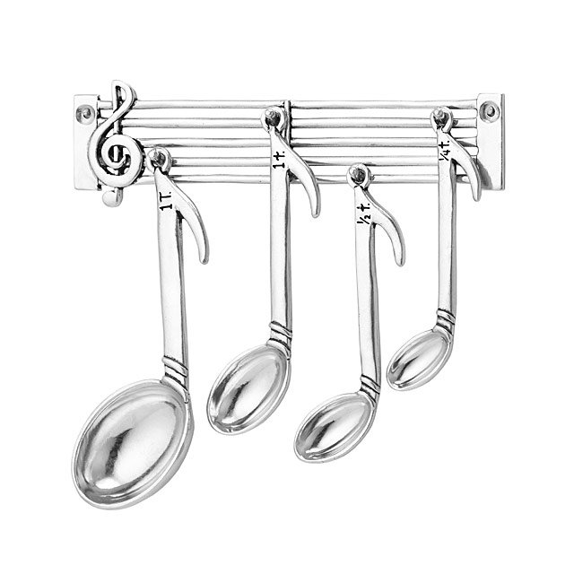 Music Note Measure Spoons - Gift Guide 2019