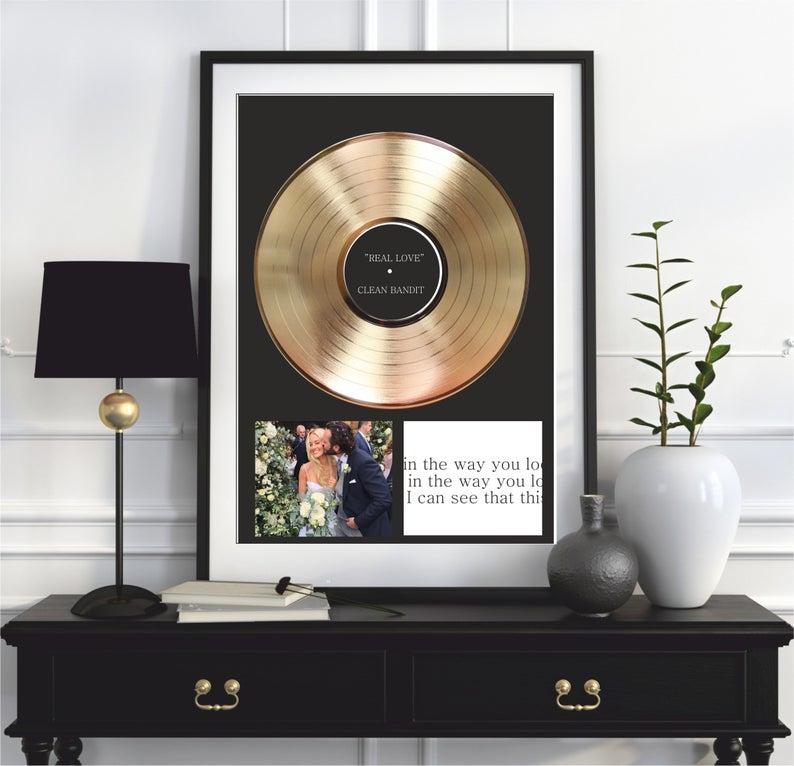 Vinyl Record Frame - Gift Guide 2019