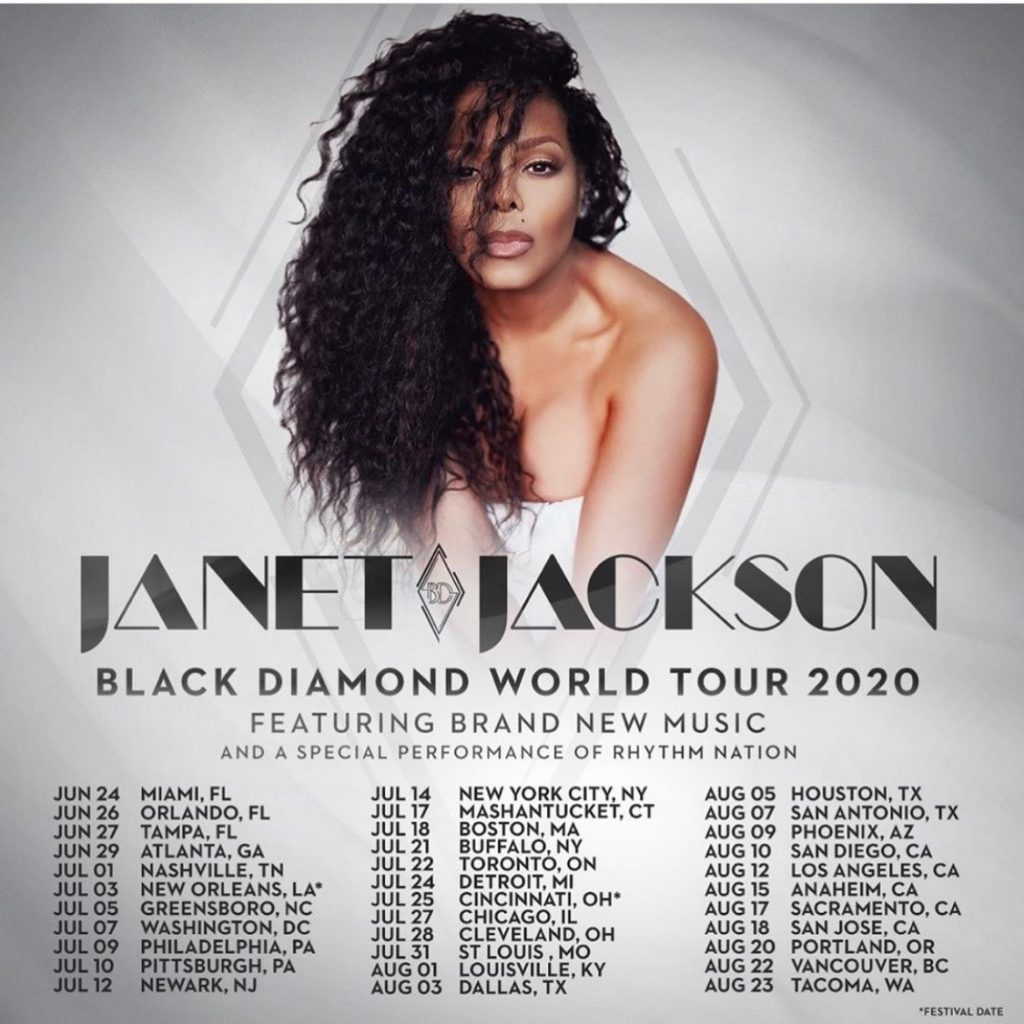 Janet Jackson - Black Diamond Tour