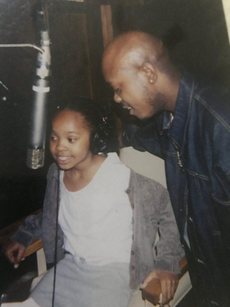 JoJo Hailey and Kayla Tiffany - In The Studio